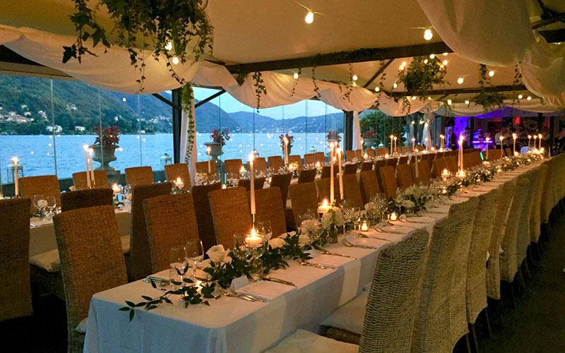 Acquadolce Lake Como Restaurant Events